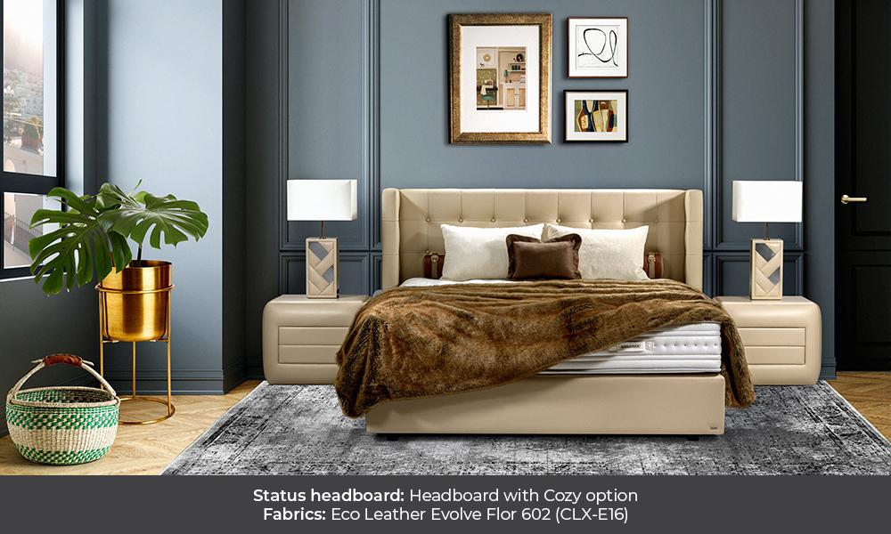Status colunex status headboard gallery