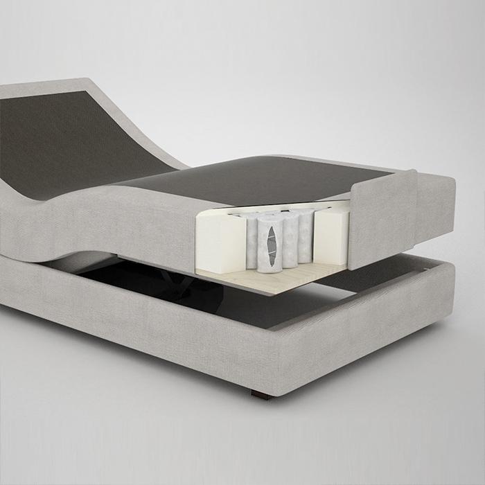 [object object] Matériaux et Technologies colunex SOMMIER ARTICULADO MOLAS ENSACADAS