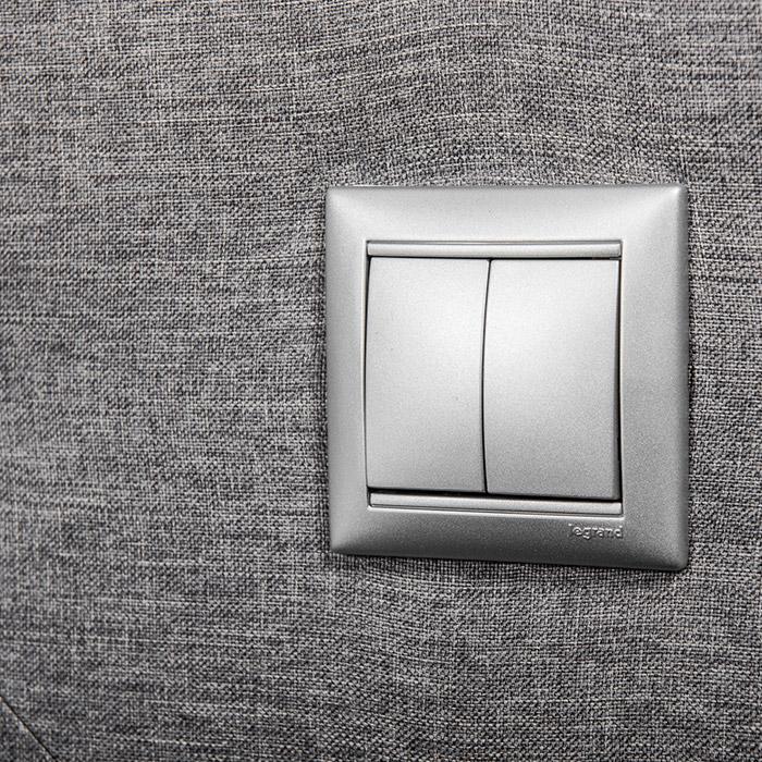 extras e opções Extras e Opções colunex light switch 1