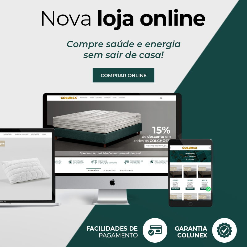 Home page mobile loja online colunex loja online mobile