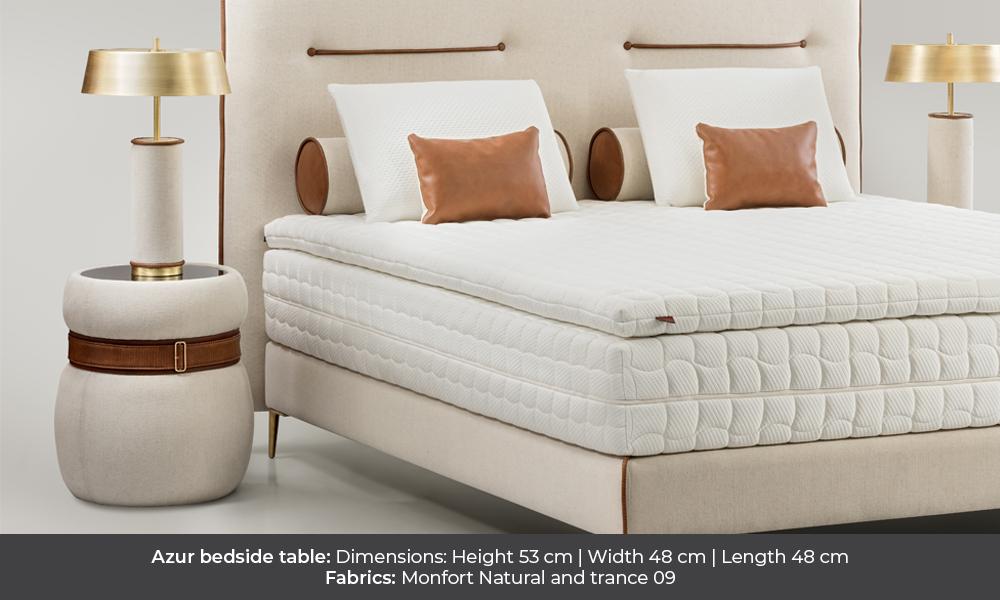 Azur bedside table by Colunex azur Azur colunex azur nightstand gallery