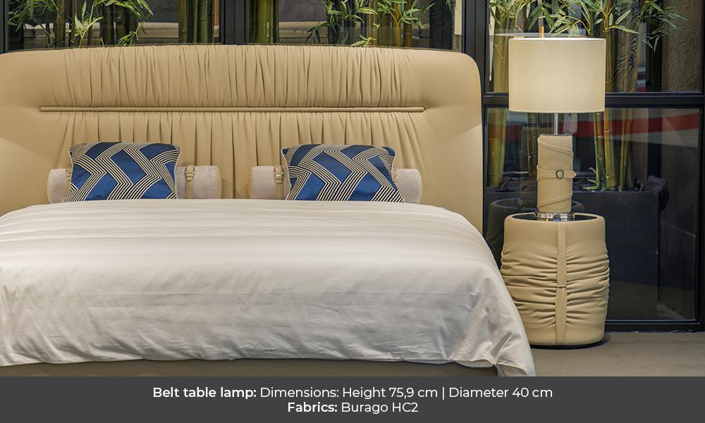 Belt table lamp by Colunex belt Belt colunex belt table lamp gallery