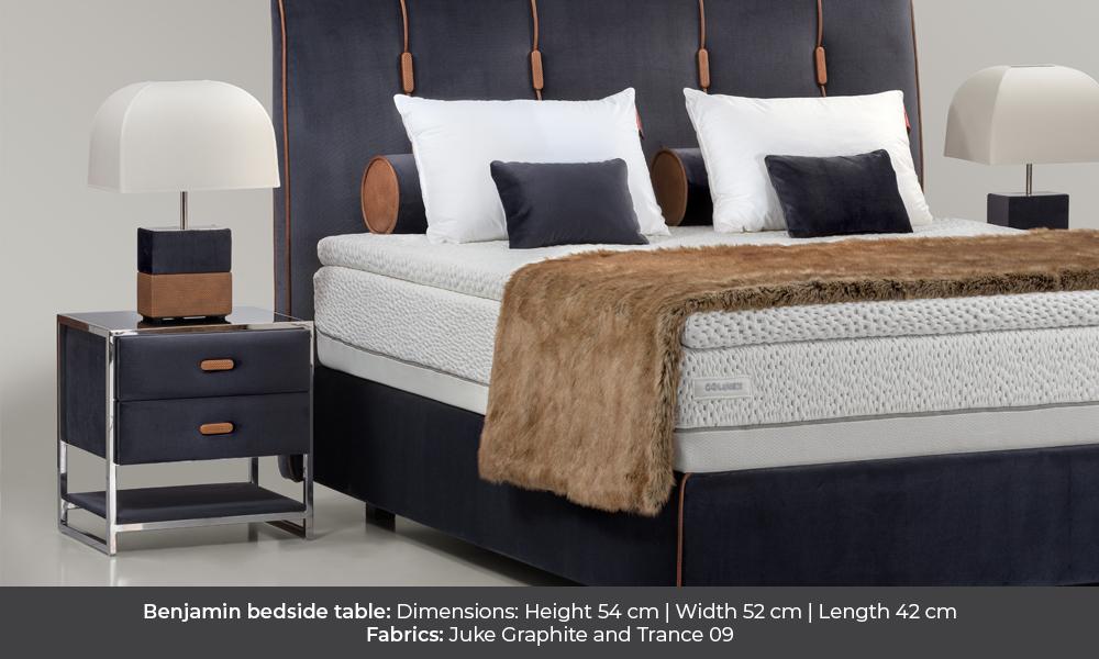 Benjamin bedside table by Colunex