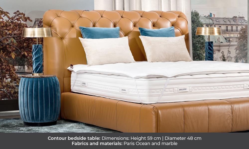 Contour bedside table by Colunex