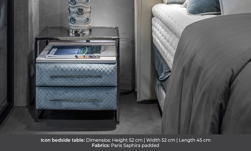 Icon bedside table by Colunex