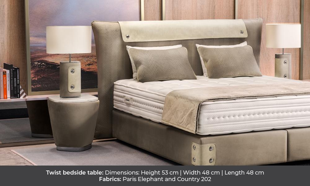 Twist bedside table by Colunex twist Twist colunex twist nightstand gallery