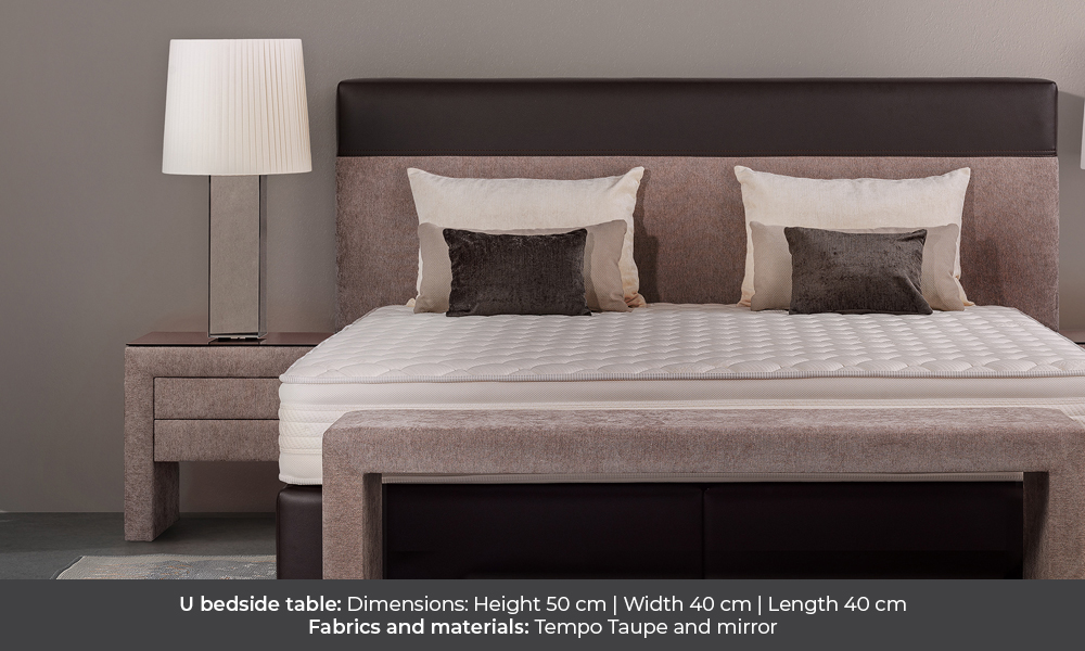 U bedside table by Colunex u 40 U 40 colunex u nightstand gallery