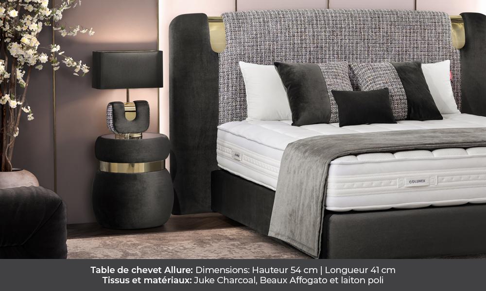 Allure bedside table by Colunex allure Allure colunex allure table de chevet galerie