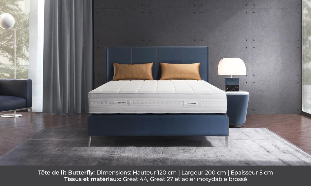 butterfly Butterfly colunex butterfly tete de lit galerie