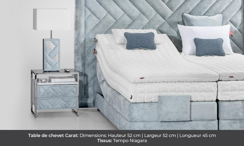 Carat bedside table by Colunex  Table de Nuit Carat colunex carat table de chevet galerie