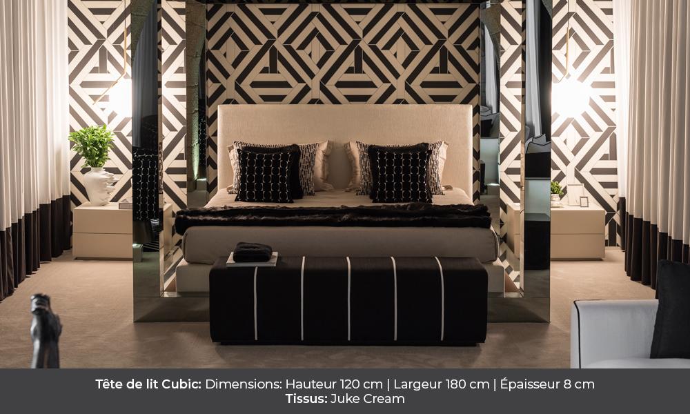 cubic Tête de lit Cubic colunex cubic tete de lit galerie