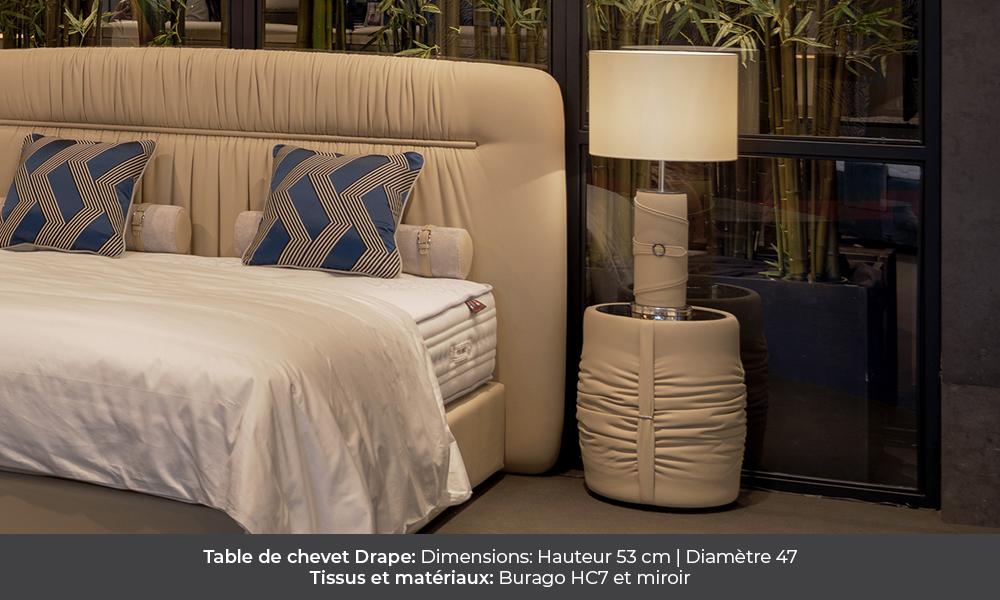 Drape bedside table by Colunex drape Drape colunex drape table de chevet galerie