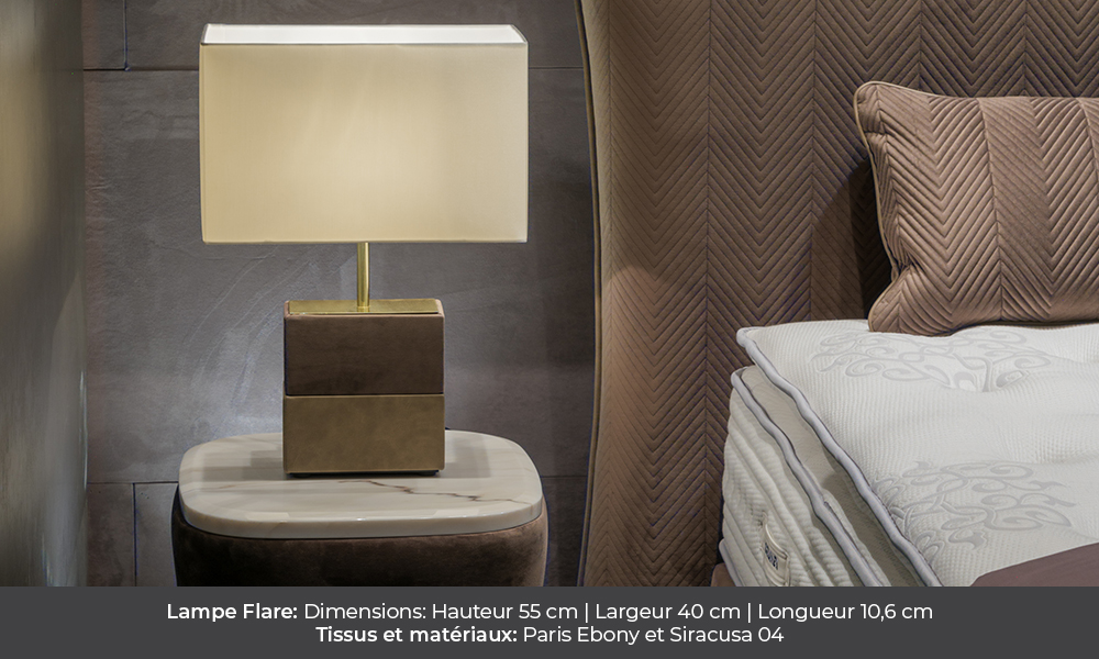 Flare table lamp by Colunex flare Lampe Flare colunex flare lampe de chevet galerie