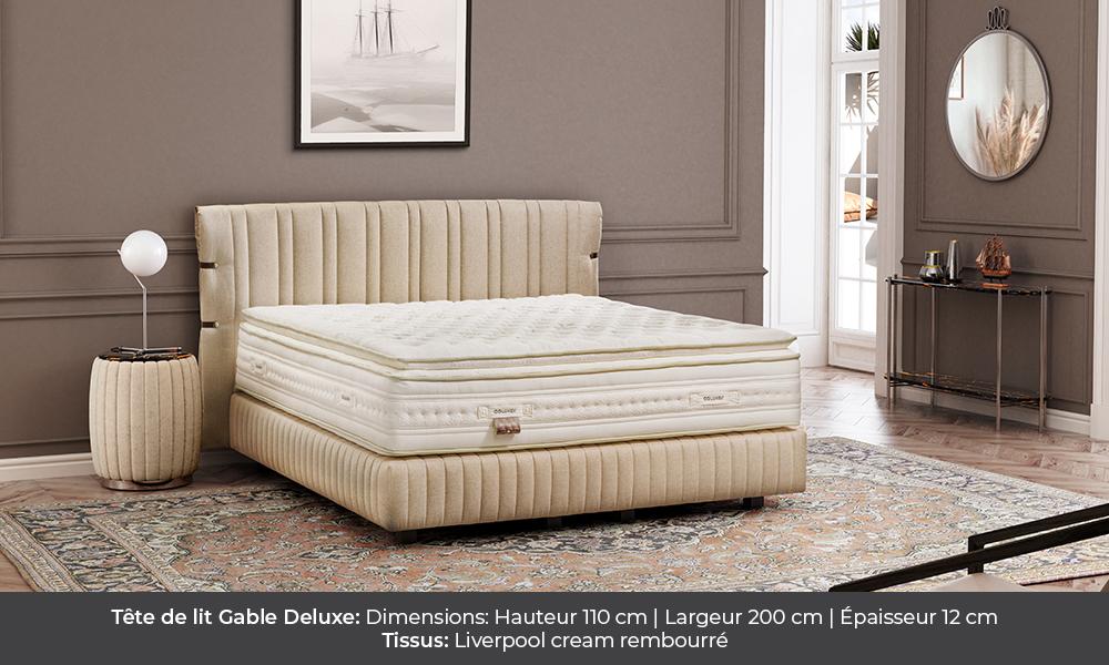 gable deluxe Gable Deluxe colunex gable deluxe tete de lit galerie