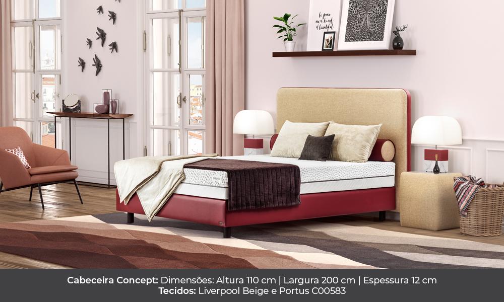 concept Concept colunex concept cabeceira galeria