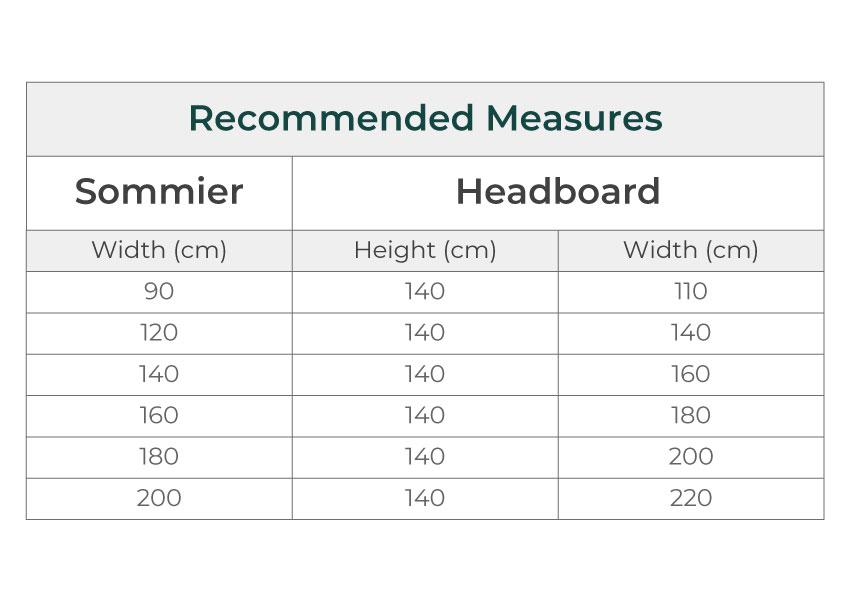 avant gard Avant Gard colunex avant gard headboard dimensions guide