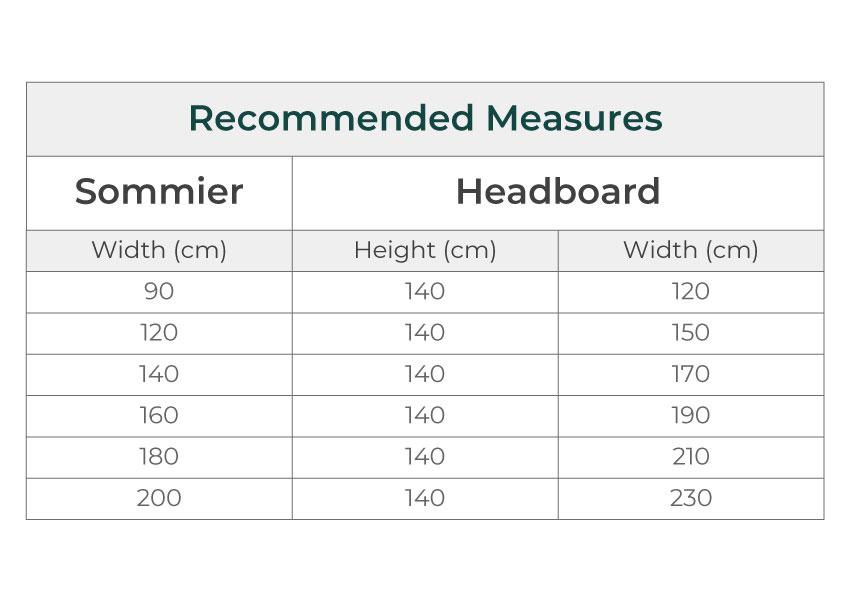 frame Frame colunex frame headboard dimensions guide