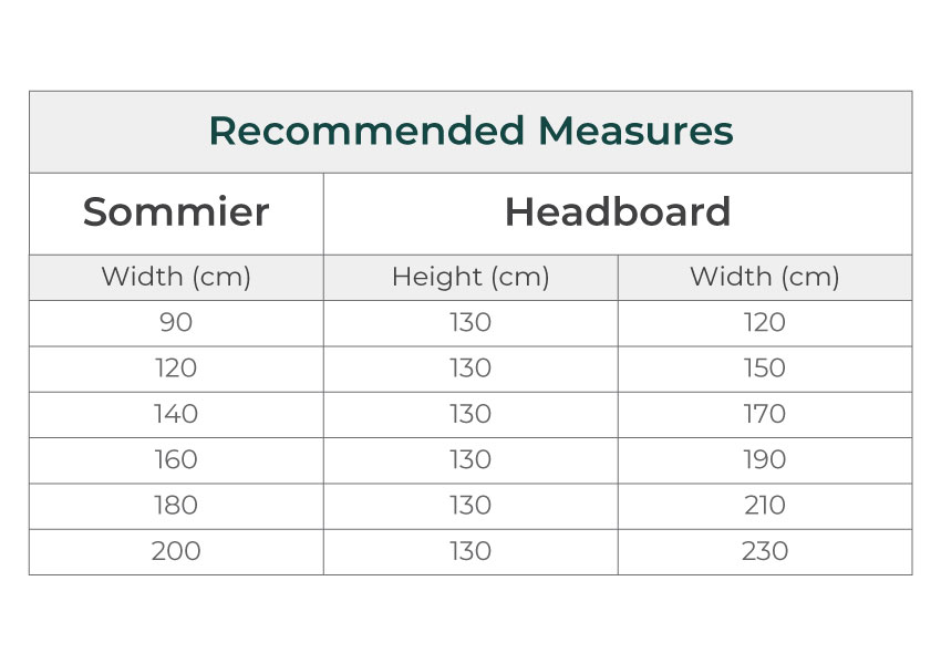 icon Icon Headboard colunex icon headboard dimensions guide