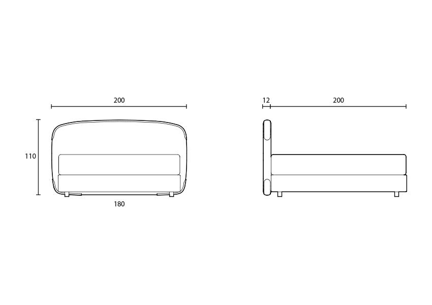 birkin Tête de lit Birkin colunex birkin headboard tecnical