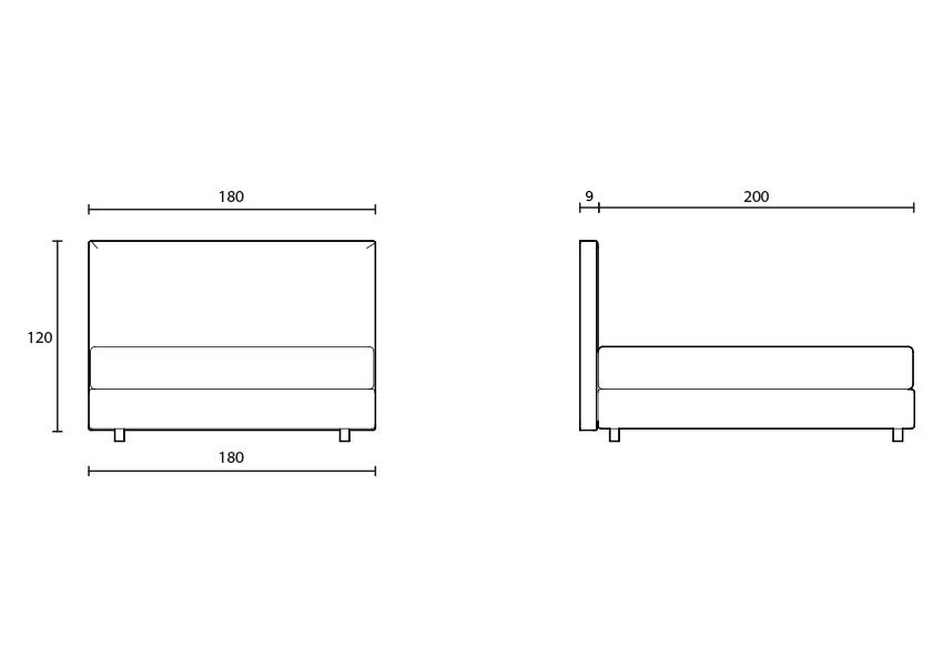 cubic Cubic colunex cubic headboard tecnical