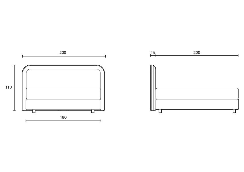 style Style colunex style headboard tecnical